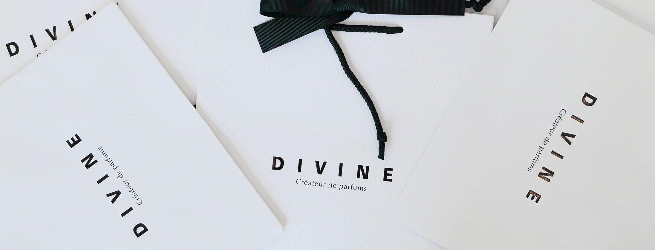 plaisir d'offrir du parfum avec divine