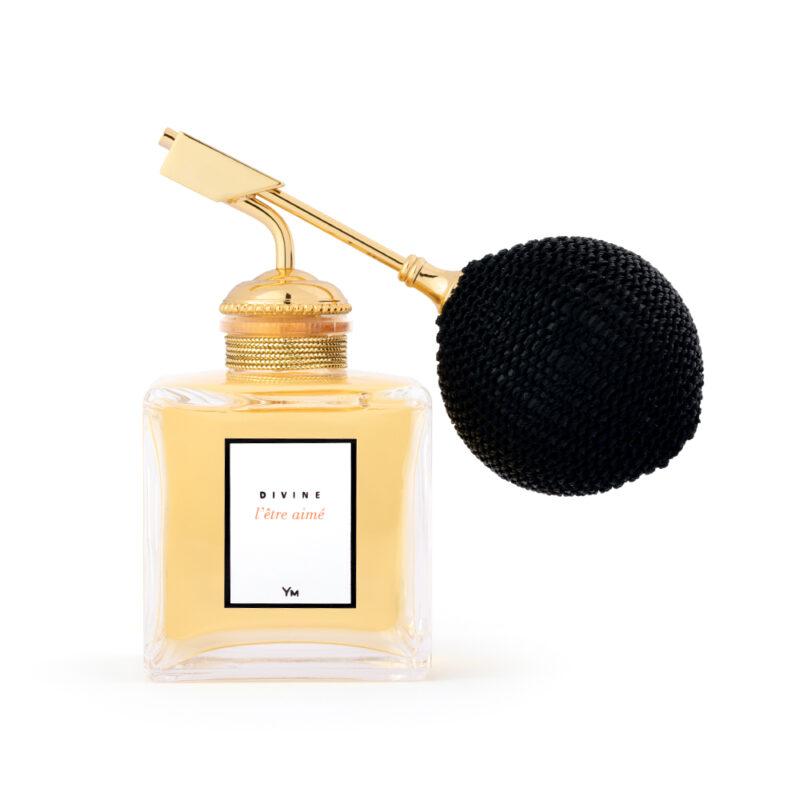 l'être aimé parfum divine + pompe poire