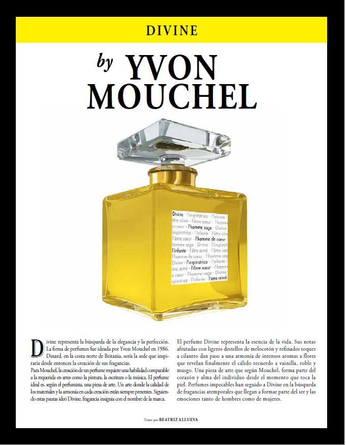 Spend-In magazine Spain divine parfum divine revue de presse